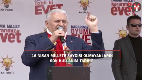 """Yıldırım: """"PKK, FETÖ kolkola girmiş hayır diye kendilerini parçalıyorlar"""""""