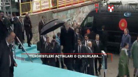 """Cumhurbaşkanı Erdoğan: """"Türkiye'ye ihanet eden taş kesilir."""