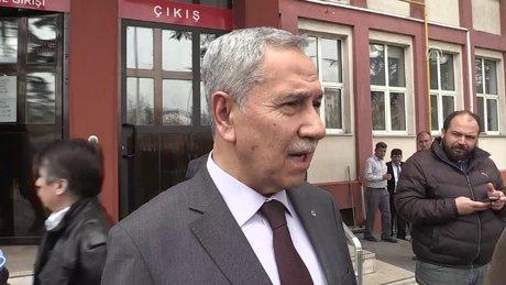 Eski TBMM Başkanı Bülent Arınç, hakkında açılan bir davaya katıldı