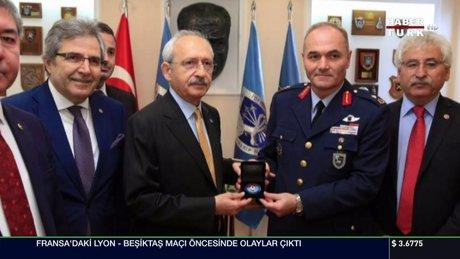 Kılıçdaroğlu'nun askeri törenle karşılanmasına inceleme