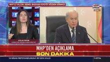 MHP'den Bahçeli'nin 'eyalet sistemi' sözleri ile ilgili açıklama