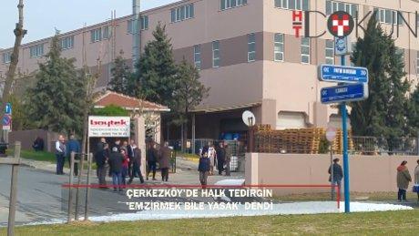 Çerkezköy'de kimyasal panik