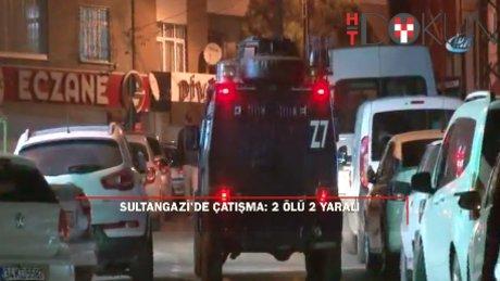 Sultangazi'de 'dur' ihtarına uymayan araca polis ateş açtı : 2 ölü, 2 yaralı