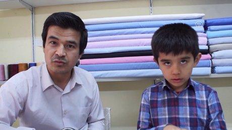 Çocuğunun tedavisi için geldiği Türkiye'de işini kurdu