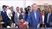 Cumhurbaşkanı Erdoğan oyunu İstanbul Üsküdar'da kullandı
