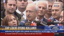 Kemal Kılıçdaroğlu Ankara'da oyunu kullandı