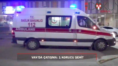 Ak Parti İlçe Başkanının aracına saldırı; 1 güvenlik korucusu şehit