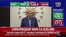2017 Referandum sonrası Cumhurbaşkanı Erdoğan'dan açıklama
