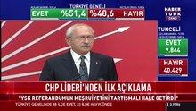 Kemal Kılıçdaroğlu, 2017 Referandum sonrası açıklama yaptı