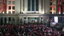 Ak Parti Genel Merkezi'nde kutlama