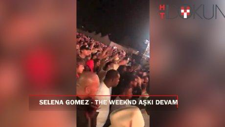 Sürpriz yakınlaşma: Selena Gomez ve The Weeknd