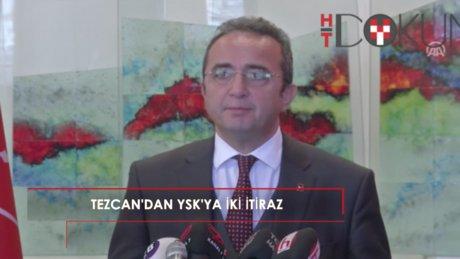 """""""CHP'li Tezcan'dan oylamaya itiraz: Mühürsüz zarflar geçerli sayılarak..."""""""