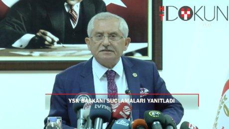 """YSK Başkanı Güven: """"Maç oynarken kural değiştirmedik"""""""