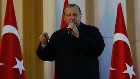 Cumhurbaşkanı Erdoğan Külliye'den halka hitap etti