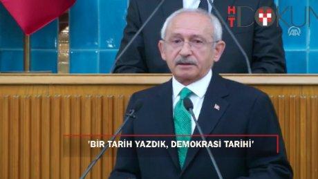 Kılıçdaroğlu: ''Yüzde ellinin üzerinde bir 'hayır'ı sandıkta ifade ettik''