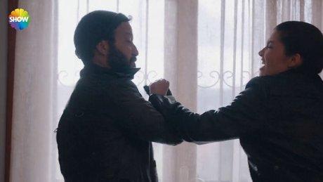 Davut ve Fulya'nın nefes kesen dövüş sahnesi