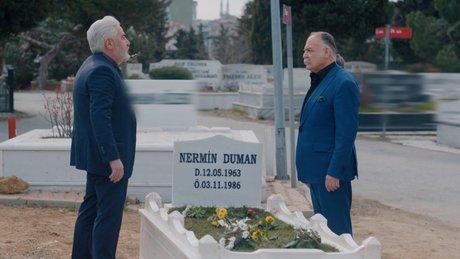 Kebapçı Celal ve Kudret, Nermin'in mezarı başında!