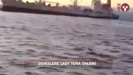 Lady Tuna kazası sonrası önlem: 500 groston üzeri…