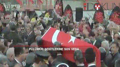Türkiye 12 şehidini uğurladı