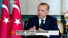 Cumhurbaşkanı Erdoğan Al Jazeera kanalına konuştu