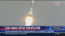 """Rus uzay mekiği """"Soyuz"""" fırlatıldı"""