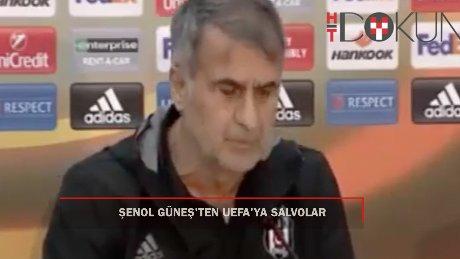 Şenol Güneş: 'Maçtan önce gol attılar bize'