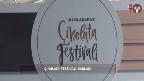 Çikolata festivali tüm lezzetiyle başladı