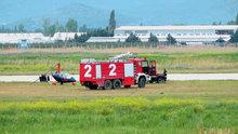 """Balıkesir'de """"gyrocopter"""" kazası"""