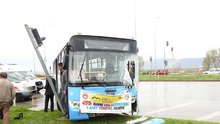 Çorum'da tır ile halk otobüsü çarpıştı: 8 yaralı