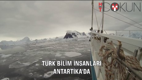 Bilim insanlarımız Antarktika'da Türk bilim üssü için çalışıyor