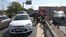 TEM'de zincirleme kaza
