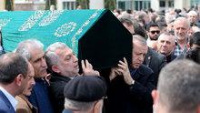 Erdoğan, Abdurrahman Külünk'ün cenaze törenine katıldı