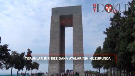 Türk ve Anzak torunları bir kez daha atalarının huzurunda