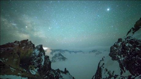 Çin'deki meteor yağmuru büyüledi
