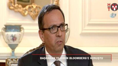 Başbakan Yıldırım Bloomberg'e konuştu