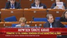 AKPM'de kritik Türkiye oylaması