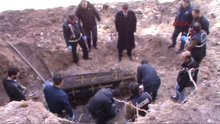 Ardahan'da işgalci Rus subayının çürümemiş cesedi bulundu