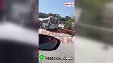 İstanbul'da servis minibüsünde patlama!