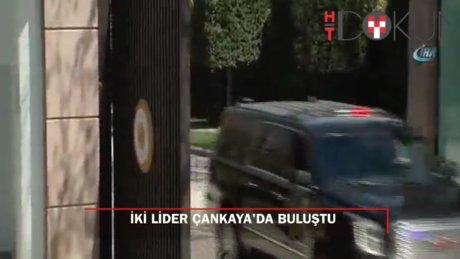 Başbakan Yıldırım ve Bahçeli Çankaya'da görüştü