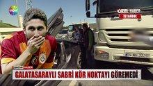Sabri Sarıoğlu kazaya karıştı!