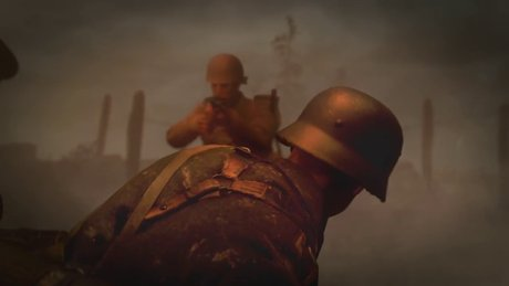 Call of Duty WWII ilk tanıtım videosu