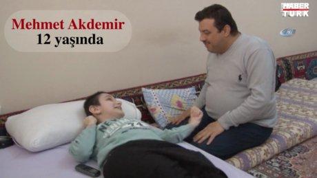Dünyayı yüreğiyle gören Mehmet'in öğrenme azmi