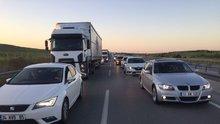 Bursa-İzmir karayolunda 3 günlük tatil yoğunluğ