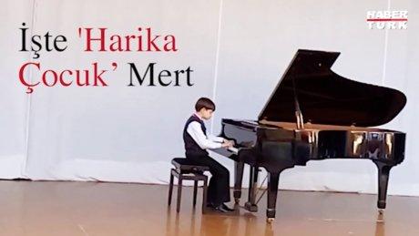 'Piyanonun Messi'si olarak bilinen Mert'ten Almanya'da büyük başarı