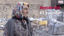 Karton toplayarak geçinen Konyalı Zeycan Gül'ün yürek burkan hikayesi