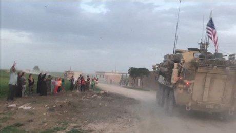 ABD zırhlıları Türkiye sınırında!