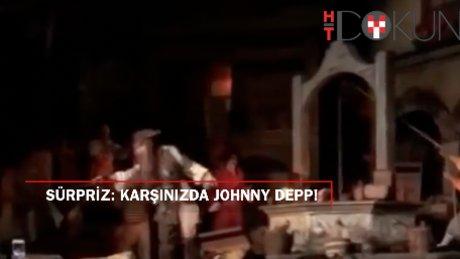Hayranlarına Johnny Depp'ten sürpriz!