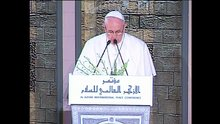 "Papa Francis,""Esselamu Aleykum"" diye selam verdi"