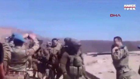 Kahraman askerlere mehter marşlı karşılama