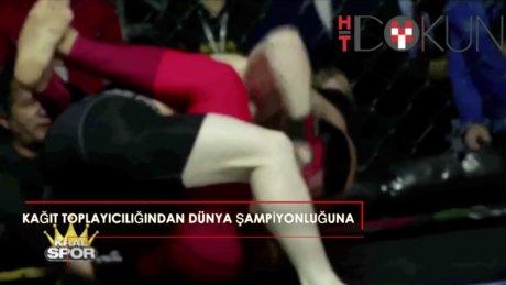 Kağıt toplayıcılığından dünya şampiyonluğuna: Kadir Dalkıran